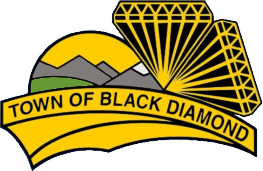 Town of Black Diamond logo -colour