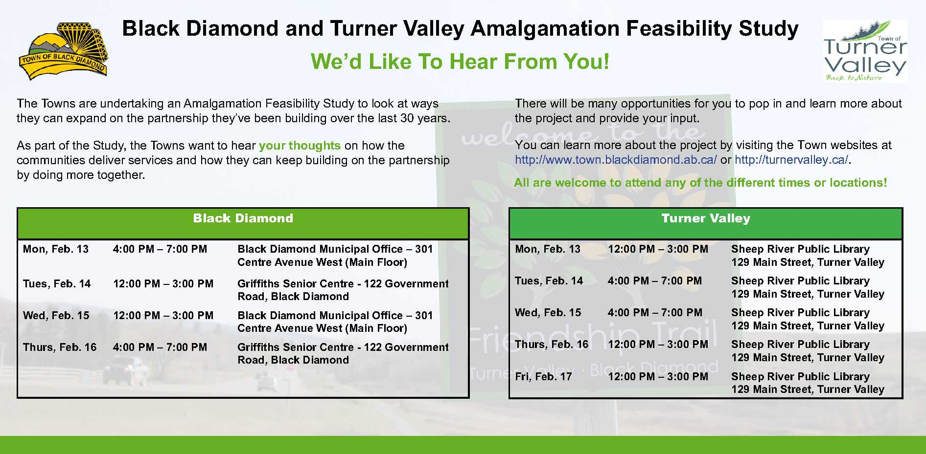 Black Diamond Turner Valley Feasibility Study-Newspaper Ad-01-27-2017-FINAL VERSION