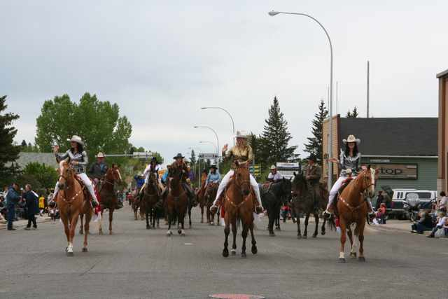 Stampede Royalty, Jessica Manning (Stampede Princess and a Thomson) On the Right