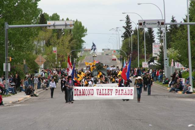 Start of Parade at a Distance